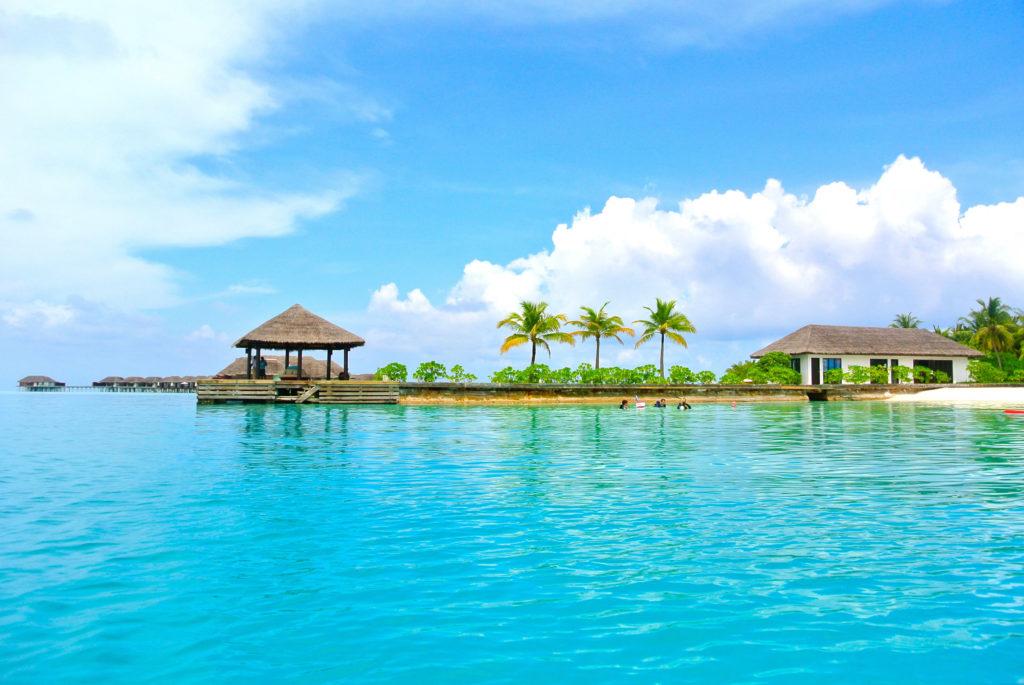 Une des destinations des Maldives