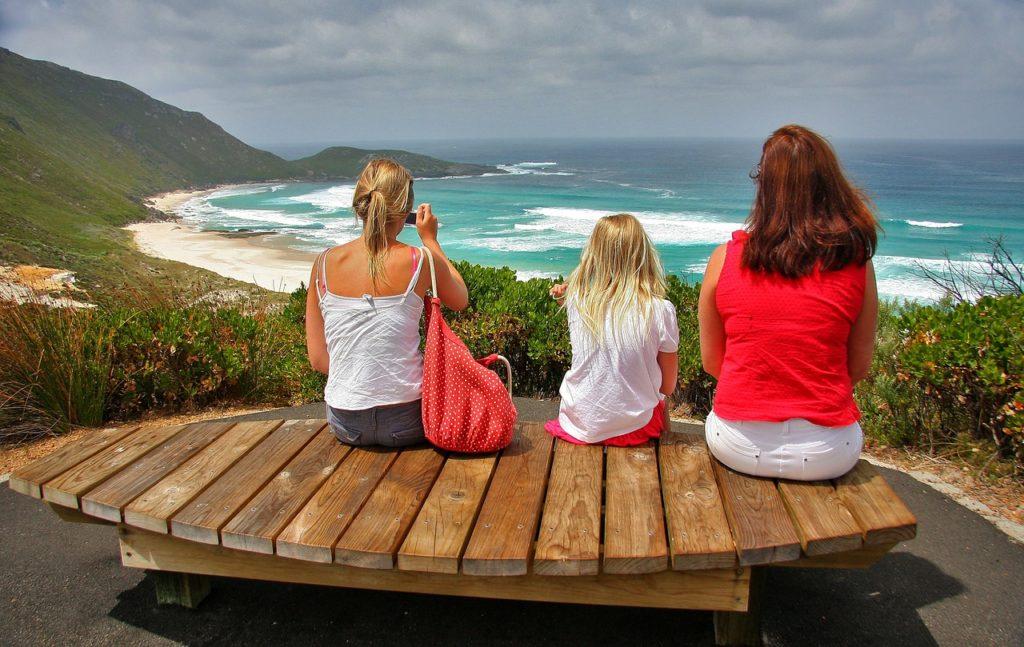 Une vue sur l'Océan Idien de l'Australie