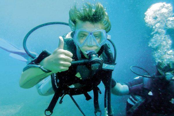 conditions à respecter pour pouvoir faire de la plongée.